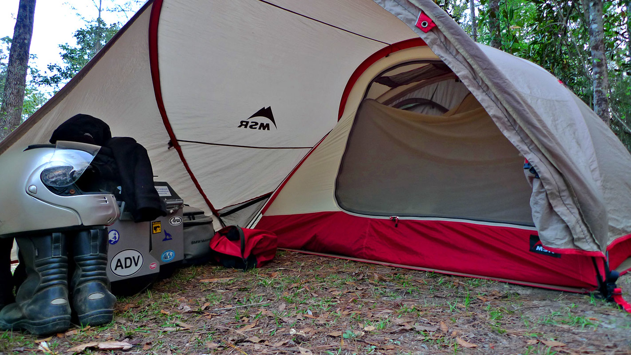 If you can find one IMO best because of the HUGE vestibule & best 2 person tent | Page 3 | Adventure Rider